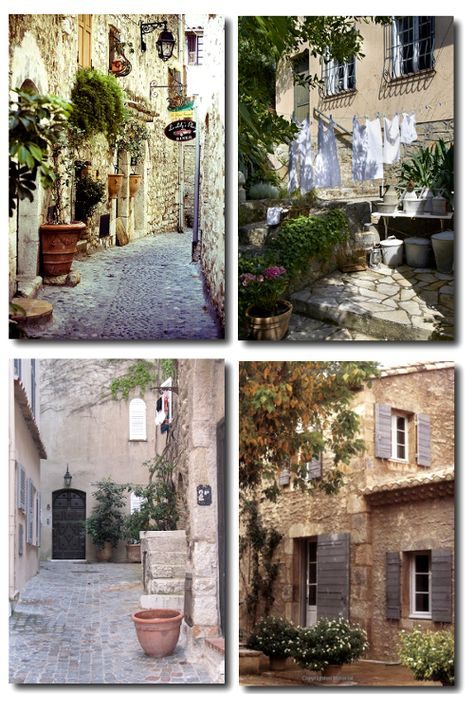 French Provence Style- Decorating With Clay Pots