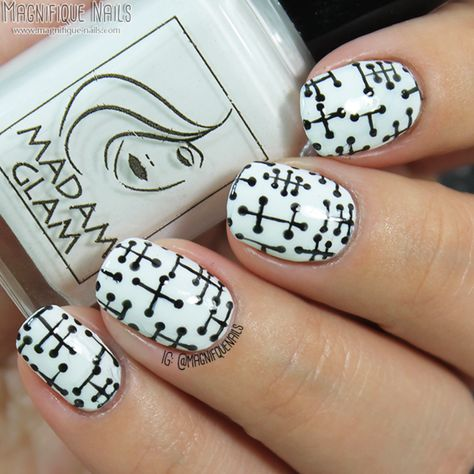 Nailpolis Museum of Nail Art | Pattern Dots  by Ana