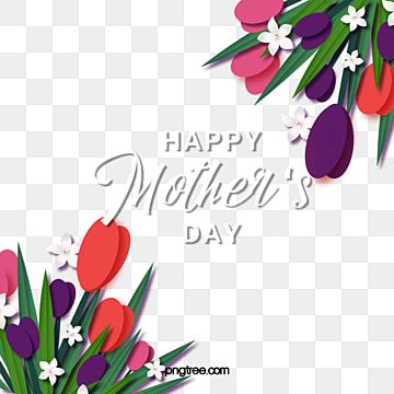 Vestido Azul De Flores Pintadas A Mao Da Mae Happy Mothers Day Clipart Mothers Day Card Template Flower Drawing