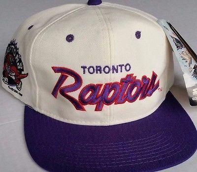 1be2dd70 Toronto Raptors Vintage Snapback Sports Specialties Script Hat Wool NBA  Rare NWT | Clothes that I want in 2019 | Hats, Toronto raptors, Raptors