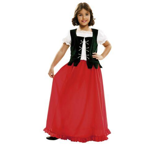 Déguisement Paysanne Médiévale #déguisementsenfants #costumespetitsenfants