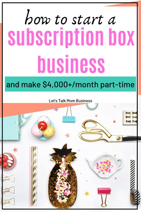 Have you ever wondered how to start a subscription box business? One mom breaks down exactly how she started and grows her subscription box business using Subscriptions For Kids, Subscription Boxes For Kids, Beauty Box Subscriptions, Business For Kids, Starting A Business, Business Planning, Business Launch, Business Ideas, Business Management