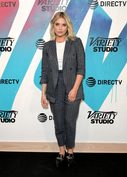 Ashley Benson stops by DIRECTV House presented by AT&T during Toronto International Film Festival 2018.