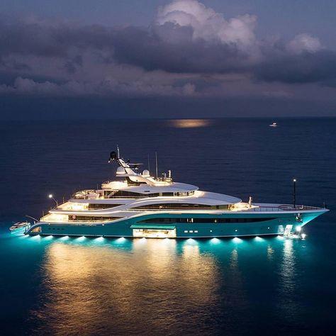 Yatch Harbour Luxe Yacht Voyages Richesse Succes Bateaux De Luxe
