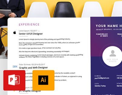 Creative Resume Template - AI, PPT (Free) - resume ppt