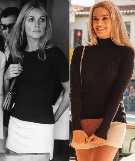 #margotrobbie as #sharontate  Did u watch #onceuponatimeinhollywood ? Thoughts about the movie? 🎥