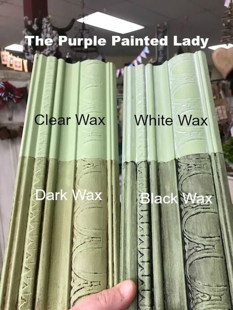 Chalk Paint Sample Board Colors- all in a row The Purple Painted Lady Annie Sloan Chalk Paint Colors, Annie Sloan Paints, Chalk Paint Projects, Chalk Paint Furniture, Chalk Paint Hutch, Annie Sloan Painted Furniture, Furniture Design, Distressed Furniture, Furniture Ideas