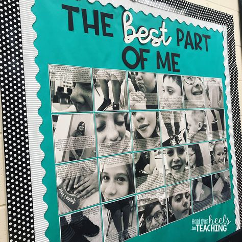 """Joanne Miller on Instagram: """"This bulletin board is a simple way to build community and self-esteem in your classroom. I can't wait for my students to see it in the…"""""""