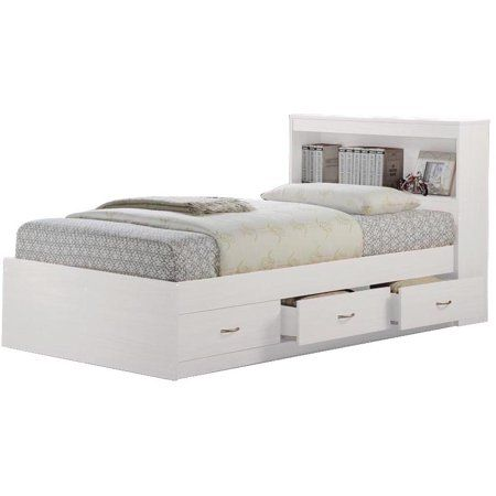 Home Platform Bed With Drawers Bed With Drawers Captains Bed