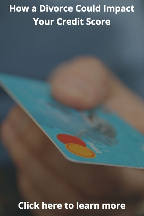 Best Divorce And Credit Score Images On   Credit