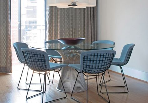 Knoll Bertoia Side Chair with covers