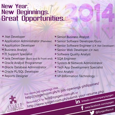 Start your IT Career with us! Visit    sysgenph it-job - oracle business analyst sample resume