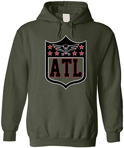 Americas Finest Apparel Atlanta Shield Hoodie Black