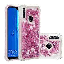 Dynamic Liquid Glitter Sand Quicksand Star Tpu Case For Huawei P Smart 2019 Diamond Rose Huawei P Smart 2019 Cases Guuds