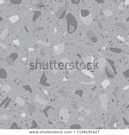 Terrazzo Flooring Vector Seamless Pattern Concrete Floor