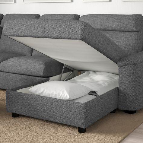 Ikea Lidhult Corner Sleeper Sofa 6 Seat In 2020 Sofa Back Cushions Sofa Bed Corner Sofa