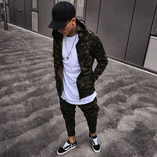 ALL // CAMO  MJG ZIP HOODY // OLIVE CAMOUFLAGE ✖️✖️ #NEW // full outfit now available  ✔️ www.mjgonzales.de ——————————————————