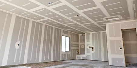 Insulation And Drywall After Trade Rough In Inspections Have Been Completed Batt Insulation Is I New Home Construction Basement Remodeling Home Construction