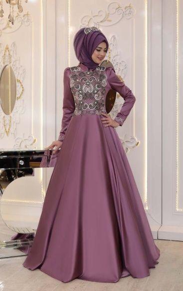 Yeni Sezon Abiye Elbise Modelleri 2019 Hijab Clothing Gaun