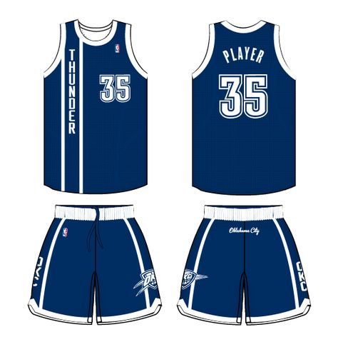 a03fcfe90 Oklahoma City Thunder Alternate Uniform 2013- Present