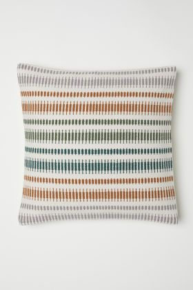Cushion Cover With Fringe Cushions H M Home Green Pillows