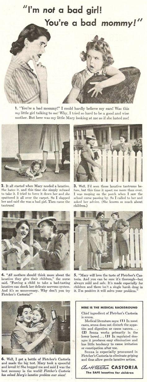 Classic '41 Castoria print ad