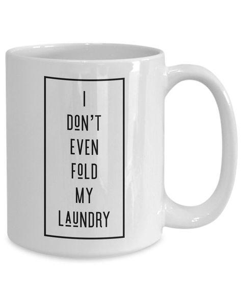 funny poker mug, funny poker gift, gift for poker player - I don't even fold my laundry poker meme coffee mug for boyfriend husband dad