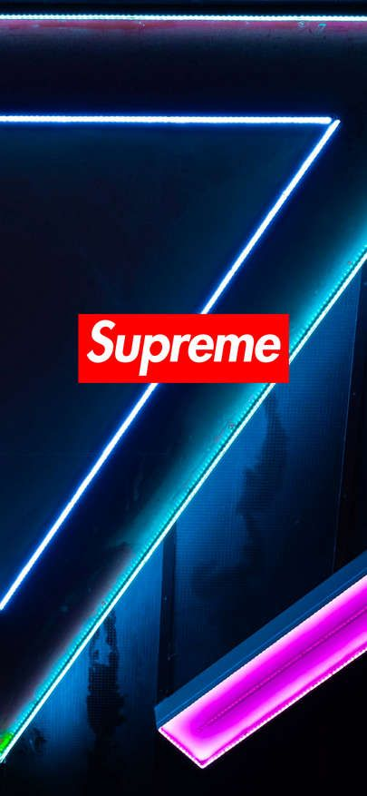 Download Wallpaper Iphone Xs Xr Xs Max Supreme Wallpaper Neon 1125
