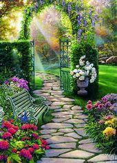 122 Bilder zur Gartengestaltung - stilvolle Gartenideen für Sie -  - #Bilder #für #Gartengestaltung #Gartenideen #Sie #stilvolle #zur