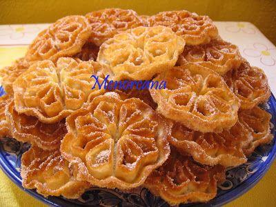 Receta HOJUELAS (FLORES DE SARTEN) por Ana en la cocina