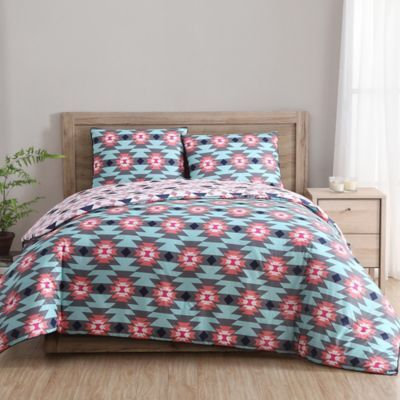 Clairebella Dreamcatcher Reversible 3 Piece Full Queen Comforter