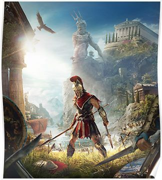Odyssey Poster With Images Assassins Creed Assassins Creed