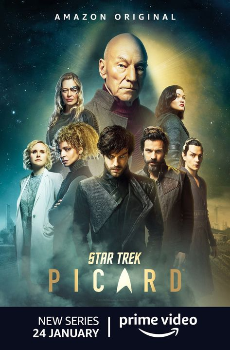 New Poster For The Amazon Prime Series Star Trek Picard Picard