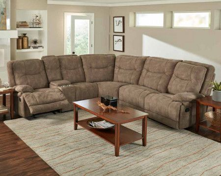 Wyoming 3 Pc Reclining Sectional Sofa Reclining Sofas Living Rooms American F Reclining Sofa Living Room Sectional Sofa With Recliner Mattress Furniture