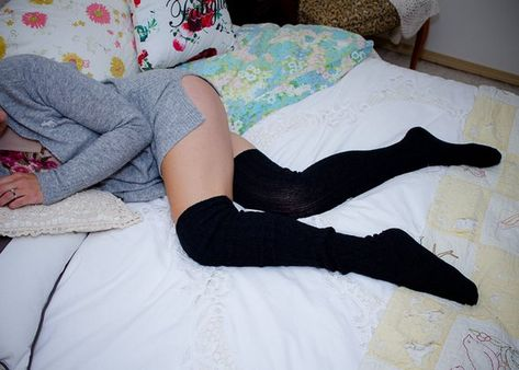 Boudoir Photoshoot Lingerie Socks Bridal Bride Maternity Homeymoon Sexy Thigh High Socks Winter Pin