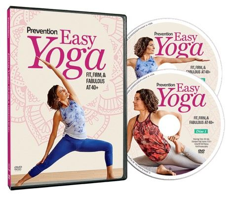 Easy Yoga Beginner Friendly Program To Get Fit Firm And Fabulous At 40 Gentle Yoga Yoga Routine Easy Yoga