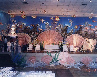 Vineyard event & floral decoration surabaya: Under the sea themed ...