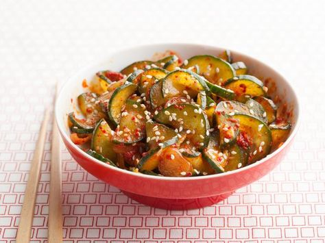 Cucumber Kimchi Recipe : : Recipes : Cooking Channel