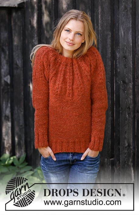 Free Pdf Download Clemence Pullover Knit Top Down In Sizes S