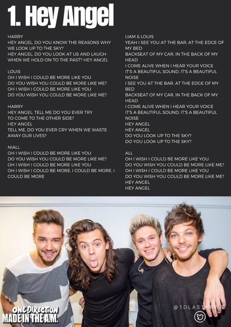 31 One Direction Songs Ideas One Direction Songs One Direction One Direction Lyrics