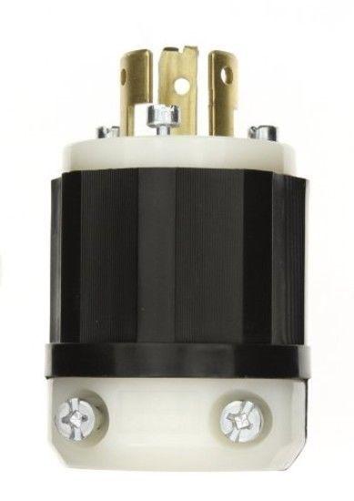 Leviton 9965 C 20 Amp 125 250 Volt Locking Plug Industrial Grade Non Groundi Leviton Plugs Industrial Grade Industrial