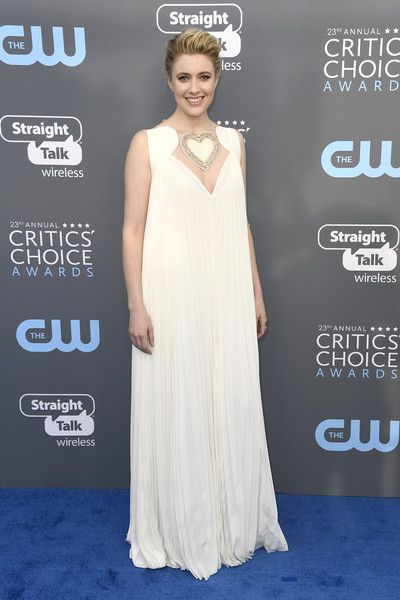 Greta Gerwig in Fendi - The Most Daring Dresses at the 2018 Critics' Choice Awards - Photos
