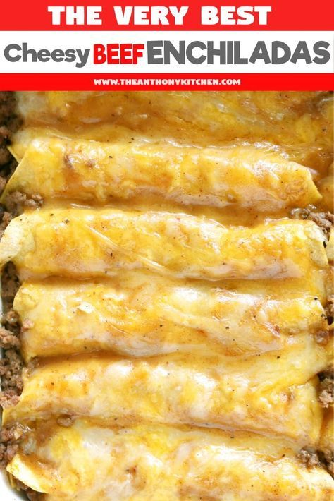 Tex Mex Beef Enchiladas Recipe Recipe Beef Enchilada Recipe Mexican Food Recipes Enchilada Recipes