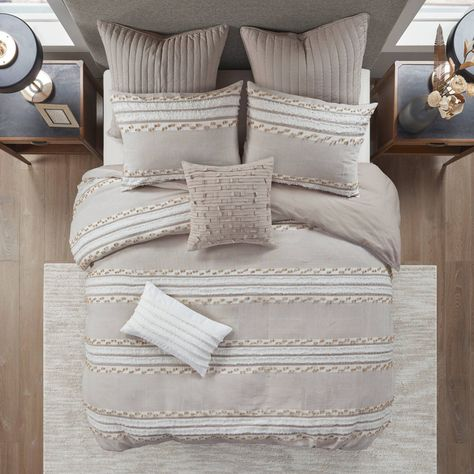 Duvet Sets, Duvet Cover Sets, King Comforter Sets, Duvet Covers Target, Cream Bedding, Master Bedroom, Bedroom Decor, Bedroom Ideas, Wedding Outfits