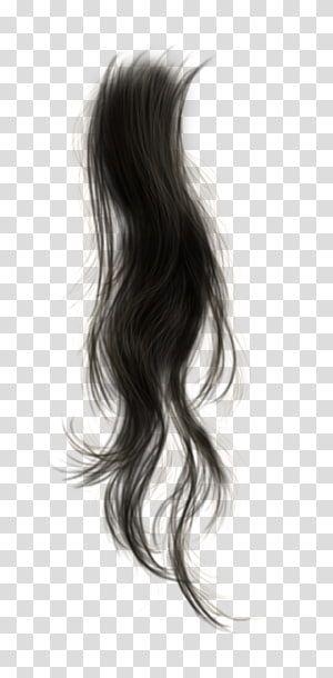 Black Hair Wig Cabelo Transparent Background Png Clipart Gambar Mata Gambar