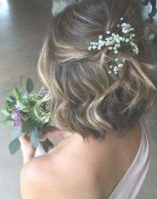Trendy Wedding Hairstyles Short Hair Bob 57 Ideas Hair Wedding Hairstyles Bridal Hair Bobs Short Bridal Hair Short Wedding Hair