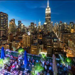 230 Fifth Rooftop Bar New York Ny United States This One Seems