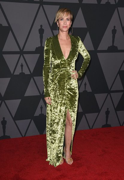 Kristen Wiig attends the Academy of Motion Picture Arts and Sciences' 9th Annual Governors Awards at The Ray Dolby Ballroom.