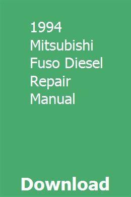 1994 Mitsubishi Fuso Diesel Repair Manual Repair Manuals Navigation System 2015 Nissan Pathfinder