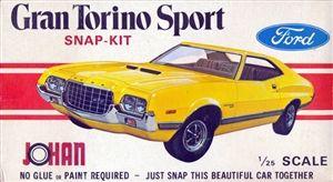 1972 Ford Gran Torino Sport 1 25 Plastic Model Kits Cars Model Cars Kits Ford